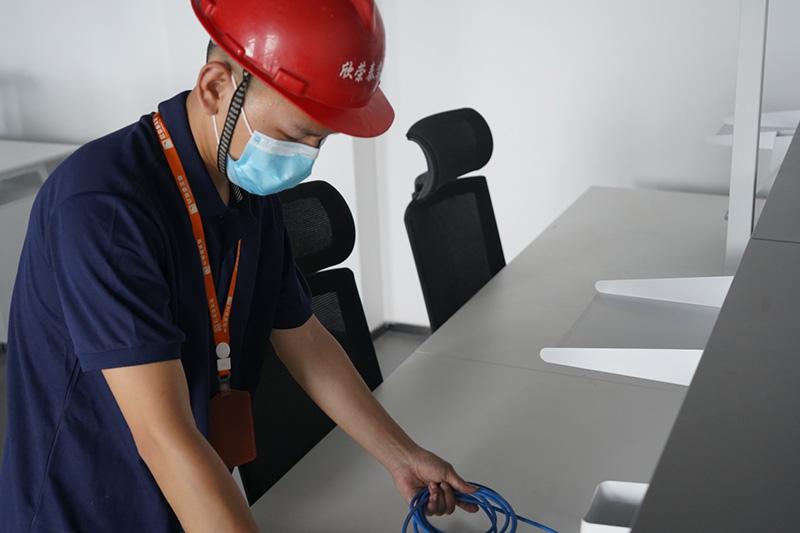 北京华联成都双桥店装修改造弱电工程